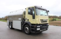 2008 Iveco 190S42 Stralis Milch Tank 4x2